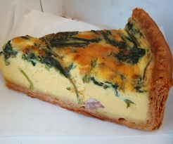 Quiche at Maison Kayser