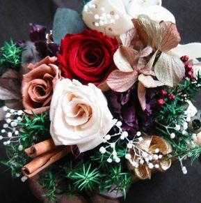 preserved flowers by Hiroko-san