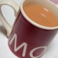 マグカップで・・・