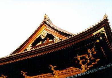 夕日をうけて・東福寺